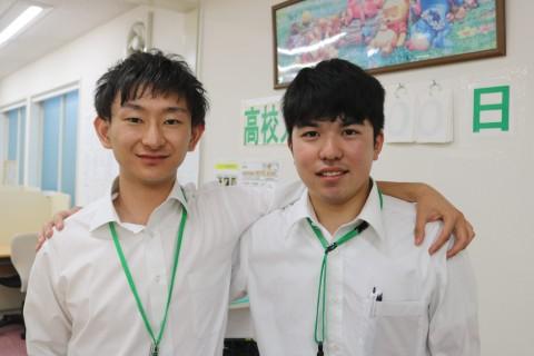 ノートス講師紹介Vol.7♪~かめだ校 熊倉先生&古田先生~